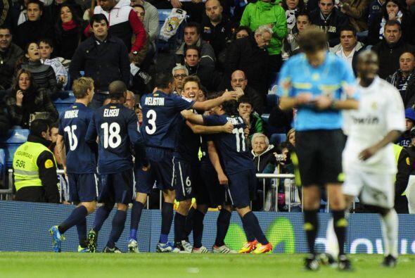 Nadie podía creer lo que sucedía en el Bernabéu.