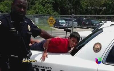 Policía esposó a un niño hispano en Kissimmee