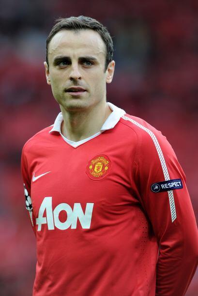 Un caso extraño es el del delantero del Manchester United, Dimita...