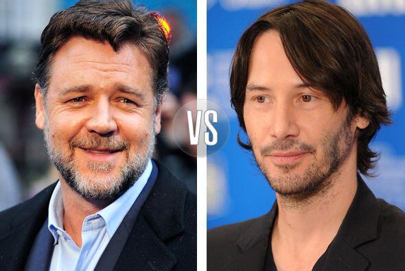 Russell Crowe y Keanu Reeves parece que se llevan varios años, pe...