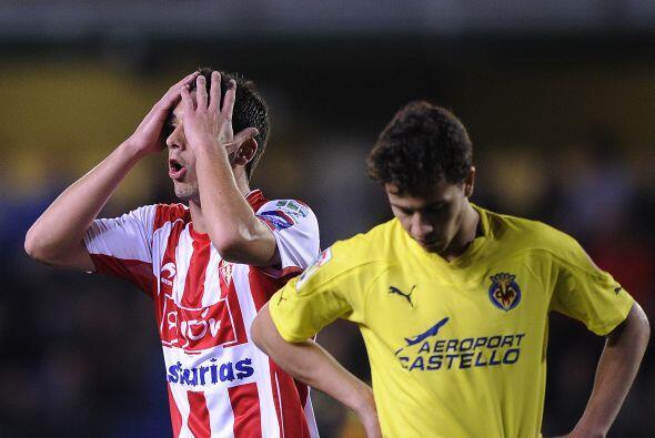 Incluso, el Gijón tuvo opciones de marcar, pero la fortuna no los...