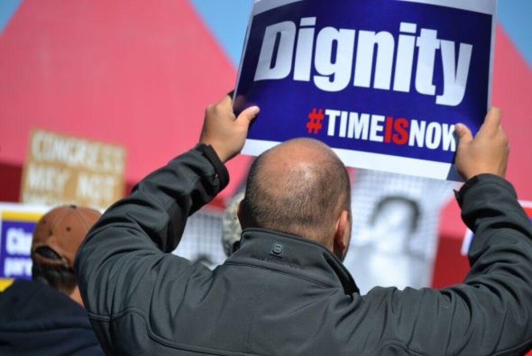 Los activistas advirtieron al Congreso y al Gobierno que, de no aprobars...