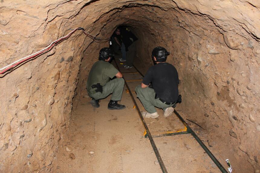Los pasadizos subterráneos que pusieron de moda los Arellano Félix.