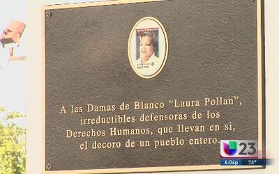 Monumento a las Damas de Blanco en Hialeah