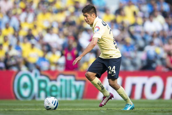 """Oribe Peralta por fin anotó con el América, el """"Cepil..."""