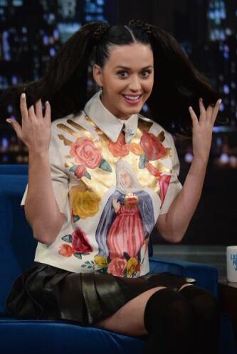 """1. Katy Perry La cantante, que promociona su nuevo disco """"Prism"""", tiene..."""
