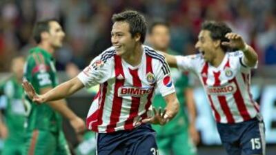 "Erick ""Cubo"" Torres anotó el segundo gol de Chivas."