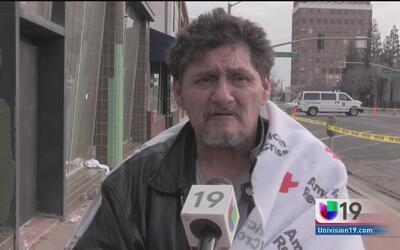 Incendio consume refugio de indigentes en Stockton