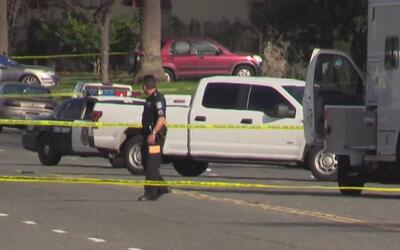 Policías de Sacramento dispararon contra un sospechoso armado
