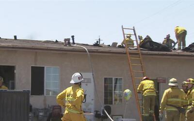 Hay incertidumbre entre las familias desplazadas por el incendio de Wilm...