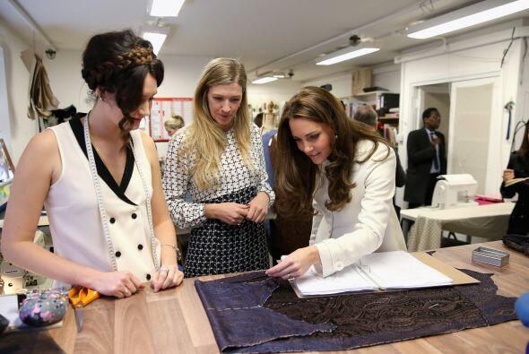 La duquesa es una gran conocedora de moda.