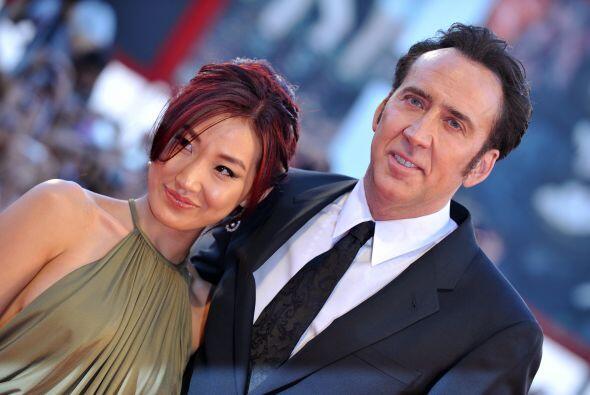 La esposa de Nicolas Cage, Alice Kim,  no se puso a pensar en los 20 a&n...