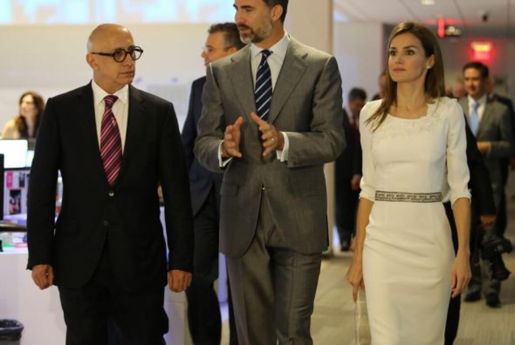 Alberto Ciurana, presidente de Contenidos y Programación acompaña en su...