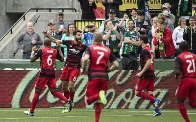 Portland convence y golea a Vancouver en el clásico de Cascadia