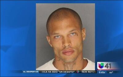 ¿Un hombre criminalmente guapo?
