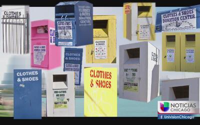 ¿A dónde va a parar la ropa que deja en las cajas de donaciones?