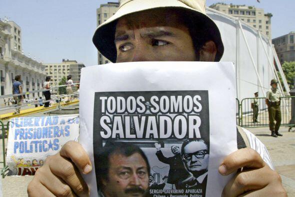 Sergio Galvarino Apablaza, ex guerrillero chileno  En Argentina está en...
