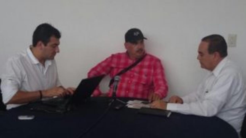 Foto @MichoacanPGJ: Luis Antonio Torres en su comparecencia ante el MP.