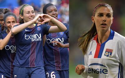 PSG vs Lyon - Champions femenina