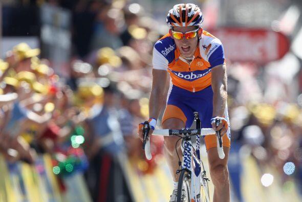 Boasson Hagen ganó en solitario,  en segundo y tercer lugar, arribaron...