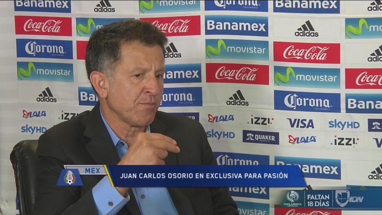 """Osorio: """"Guardado debe decidir si juega JJOO o Copa América"""""""