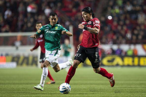 Dayro Moreno, el colombiano tuvo una gran primera etapa con los Xolos de...