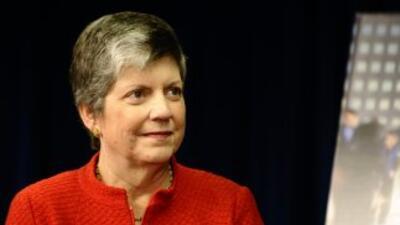La Secretaria Janet Napolitano agregó que la nueva alerta no sólo propor...