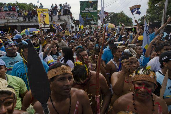"""Chávez """"se enfermó de poder"""", dijo Capriles, asegurando que el Gobierno..."""