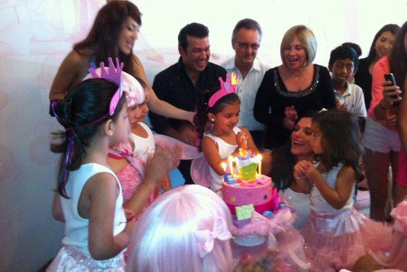 Fiesta de Mia Andrea la hija de Barbara Bermudo