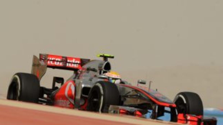 Lewis Hamilton, actual líder del Mundial de F1, lideró los entrenamiento...