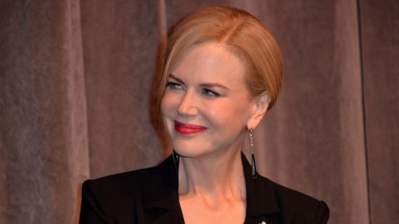 La actriz en realidad no se llama Nicole.