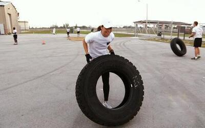 Satcha Pretto se entrenó al estilo 'crossfit' como  lo hacen en 'Fuerzas...