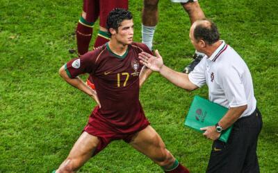 """Scolari: """"Ronaldo es el mejor del mundo porque él se hace el..."""