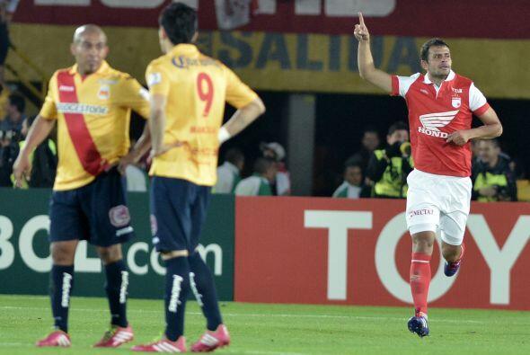 José julián de la Cuesta al minuto 57 anotó el gol que le daba la ventaj...