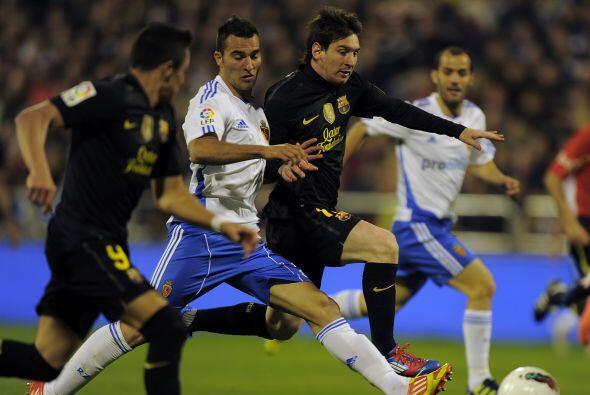 El primer tiempo se cerró con un 2 a 1 a favor del conjunto de Guardiola.