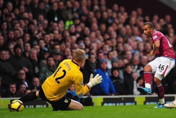 Cinco goles hizo el West Ham para ganar 5-3.