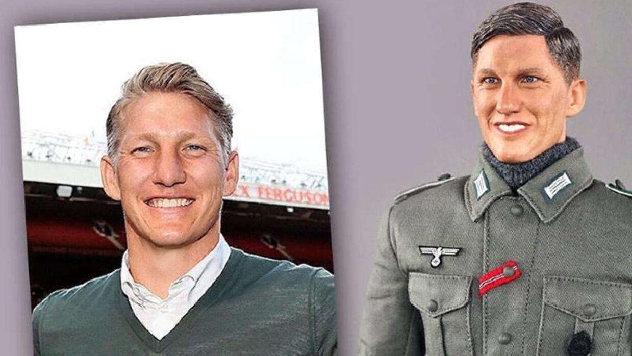 Crean muñeco nazi basado en Schweinsteiger