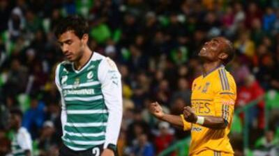 Santos y Tigres igualaron a dos goles en la jornada 11 del Clausura 2015.