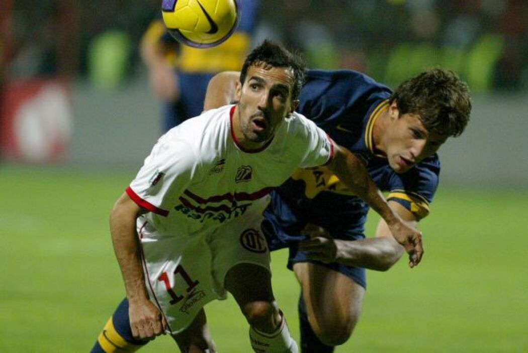 Para la fase de grupos del 2007 fue el Toluca quien venció a los bostero...