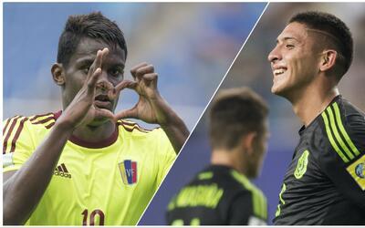 Mundial Sub-20: Venezuela enfrentará al Tri con el mismo equipo que gole...