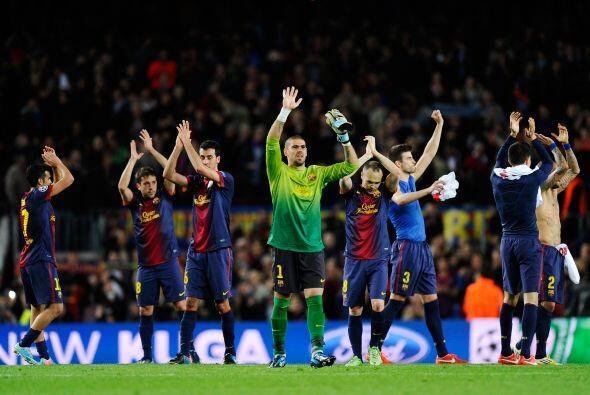 Con esto, el Barcelona completó a los cuatro invitados de la Cham...