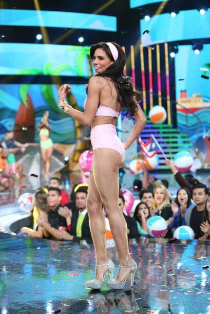 El verano llegó temprano a Nuestra Belleza Latina. Al ritmo de Becky G y...