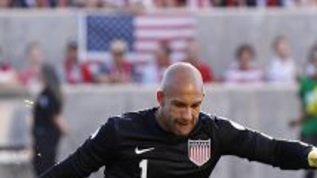 Tim Howard, manos seguras
