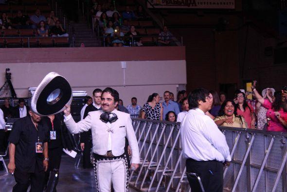 Vicente Fernández en vivo en Fresno