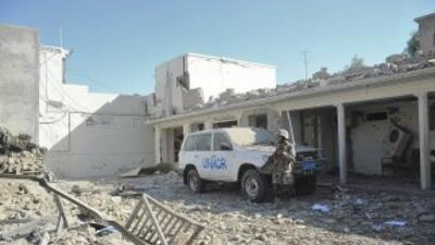 El atentado se realizó mediante la explosión de un coche bomba.