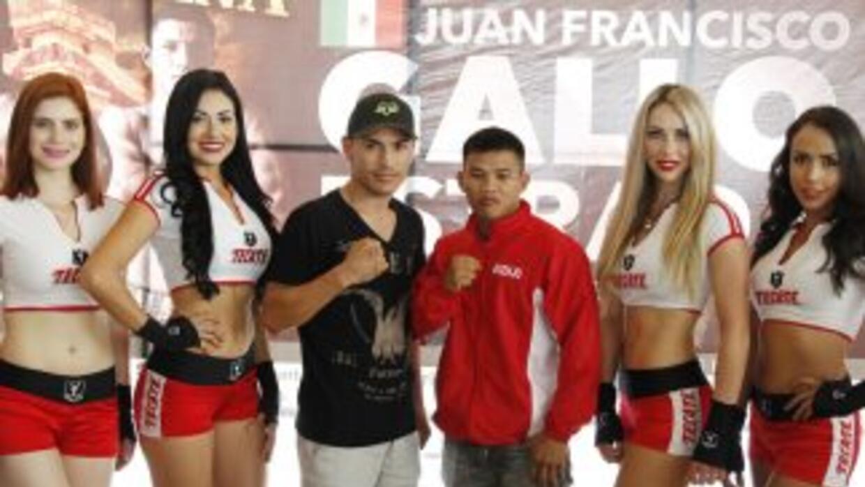 'Gallo' Estrada listo para lo que traiga Asenjo (Foto: Zanfer).