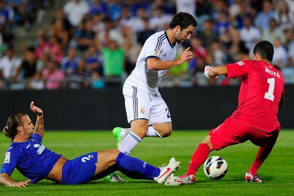 A pesar de que recibió un gol por parte de Higuaín, este a...