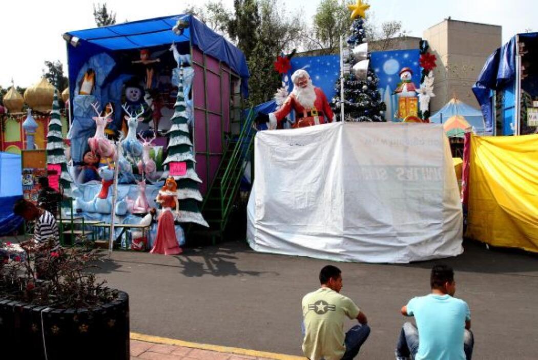 Se encuentran listos Santa Claus y los Reyes Magos, para recibir a los n...