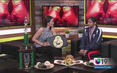 Promesas del deporte: Una pequeña gran boxeadora