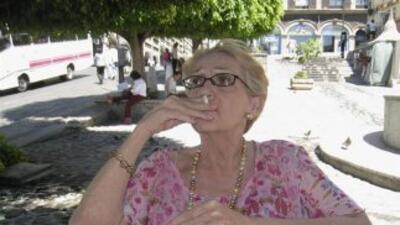 Helena Paz Garro, hija de los escritores Octavio Paz y Elena Garro, fall...